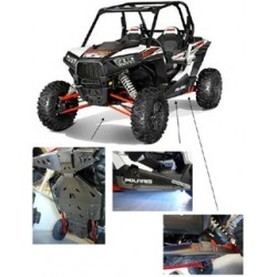 Kit Complet de Protection Alu CRD Meca'System Polaris RZR 1000