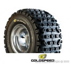 Pneu Goldspeed SX jaune 18x10x8 Port Offert