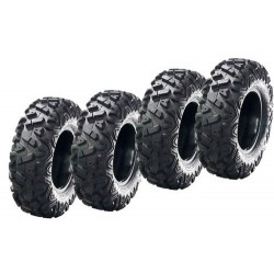 Lot de 4 Pneus Dragon A033 Rider 26x9x12 / 26x11x12