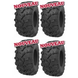 Lot 4 Pneus Kenda K592 Bear Claw Evo 26x9x14 + 26x11x14 Port Off
