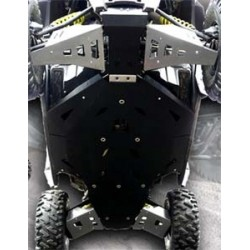 Kit Complet de Protection PHD + Alu Meca'System Polaris RZR900S