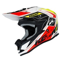 Casque Kenny Performance Orange Fluo Jaune Fluo