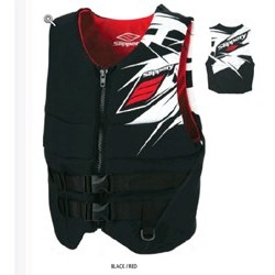 Gilet REV Neo Vest Slippery Noir Rouge