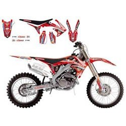Kit Déco BlackBird Honda Racing Team Hdi Mx