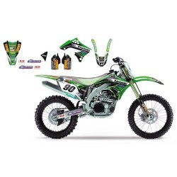 Kit Deco BlackBird Kawasaki Racing Team MX1