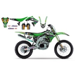 Kit Deco Complet BlackBird Kawasaki Racing Team MX1
