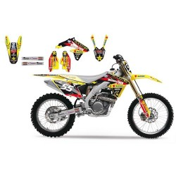 Kit Deco BlackBird Suzuki Team Vamo Racing MX2
