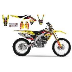Kit Deco Complet BlackBird Suzuki Team Vamo Racing MX2