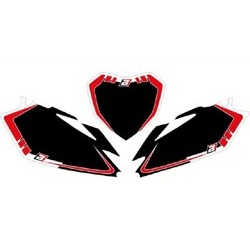 Fonds De Plaque Graphic Blackbird pour Honda