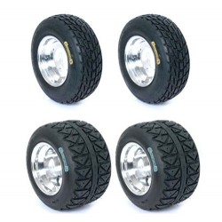 Lot de 4 Pneus Goldspeed CR 165x70x10 / 225 x40x10 HV