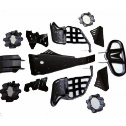 Kit Complet de Protection Alu Quad Sport 700 Raptor Yamaha