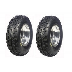Lot de 2 Pneus AV Goldspeed SX 20 x 6 x 10