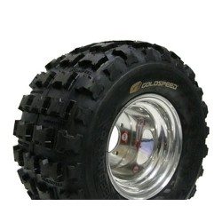 Pneu Goldspeed Cross MXR 18x10x8 jaune Port Offert